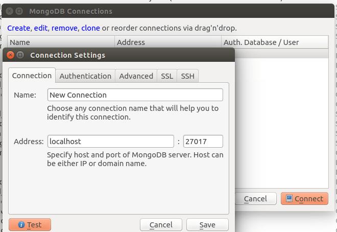 วิธีติดตั้งและการใช้งาน robomongo ใน ubuntu - Swiftlet
